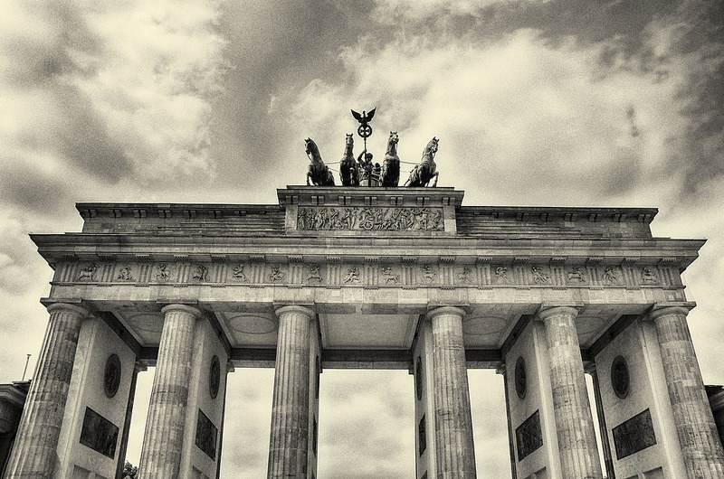 puerta de brandenburgo, berlin