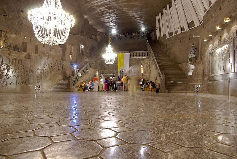 minas de sal de Wieliczka, Polonia