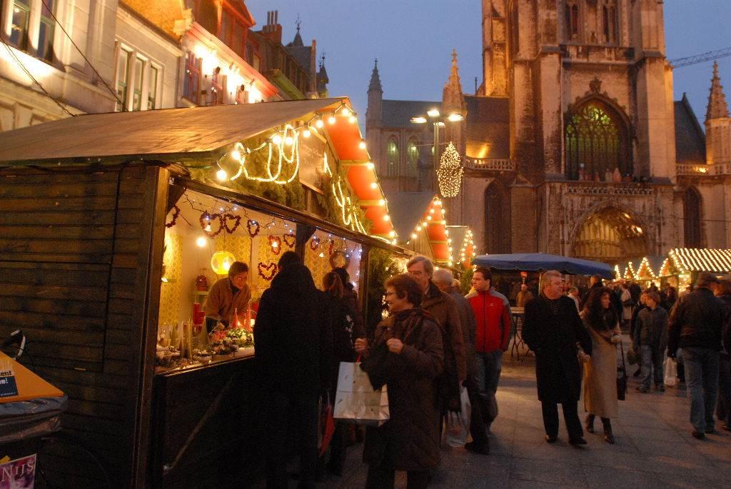 Mercado de Navidad de Gante