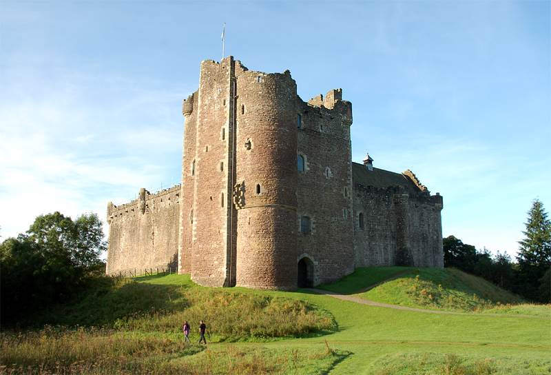 Castillo de Doune flickr