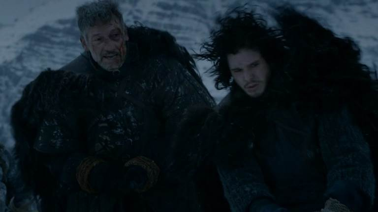 Halfhand_and_Jon_Snow