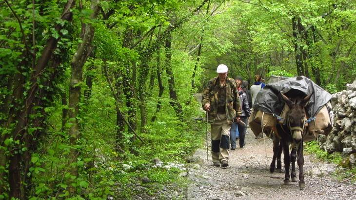 Parque nacional Paklenica, Croacia