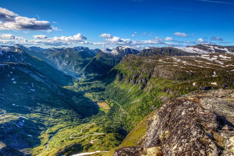 Fotografia de los fiordos de Noruega