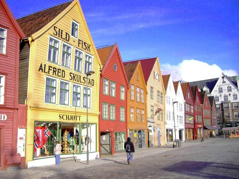 Bergen, ciudad de Noruega