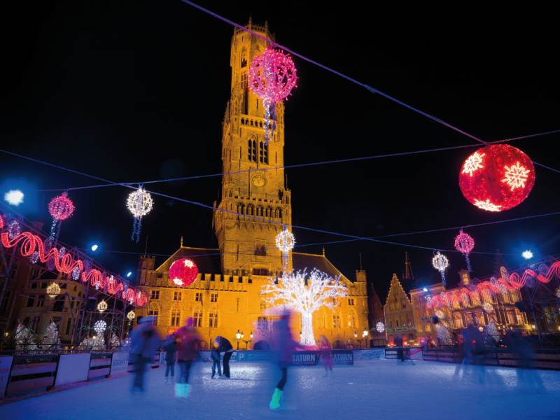 Mercadillo navideño en Brujas