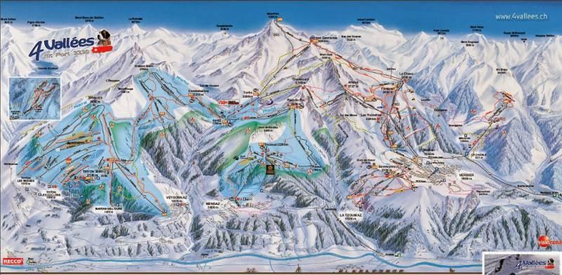 estacion de esqui de les 4 vallees